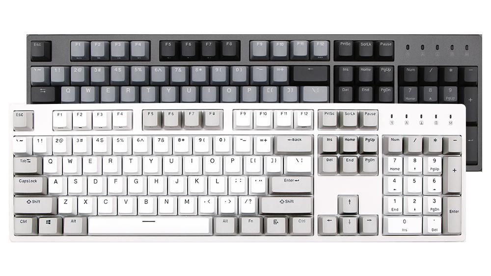DURGOD杜伽K320/K310机械键盘樱桃87键104键办公游戏黑青红茶银轴